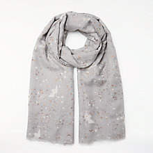 Buy Becksondergaard Hosta Scarf, Grey Online at johnlewis.com