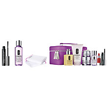 Buy Clinique Mascara, Makeup Remover, Muslin Cloth and The Best of Clinique Online at johnlewis.com