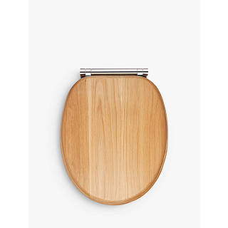 d shaped wooden toilet seat. John Lewis FSC Oak Antibacterial Soft Close Toilet Seat  Brown Seats Bathroom Accessories