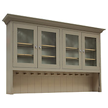 Buy Neptune Suffolk 6ft Glazed Rack Dresser, Honed Slate Online at johnlewis.com