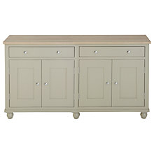 Buy Neptune Suffolk 6ft Sideboard, Honed Slate Online at johnlewis.com