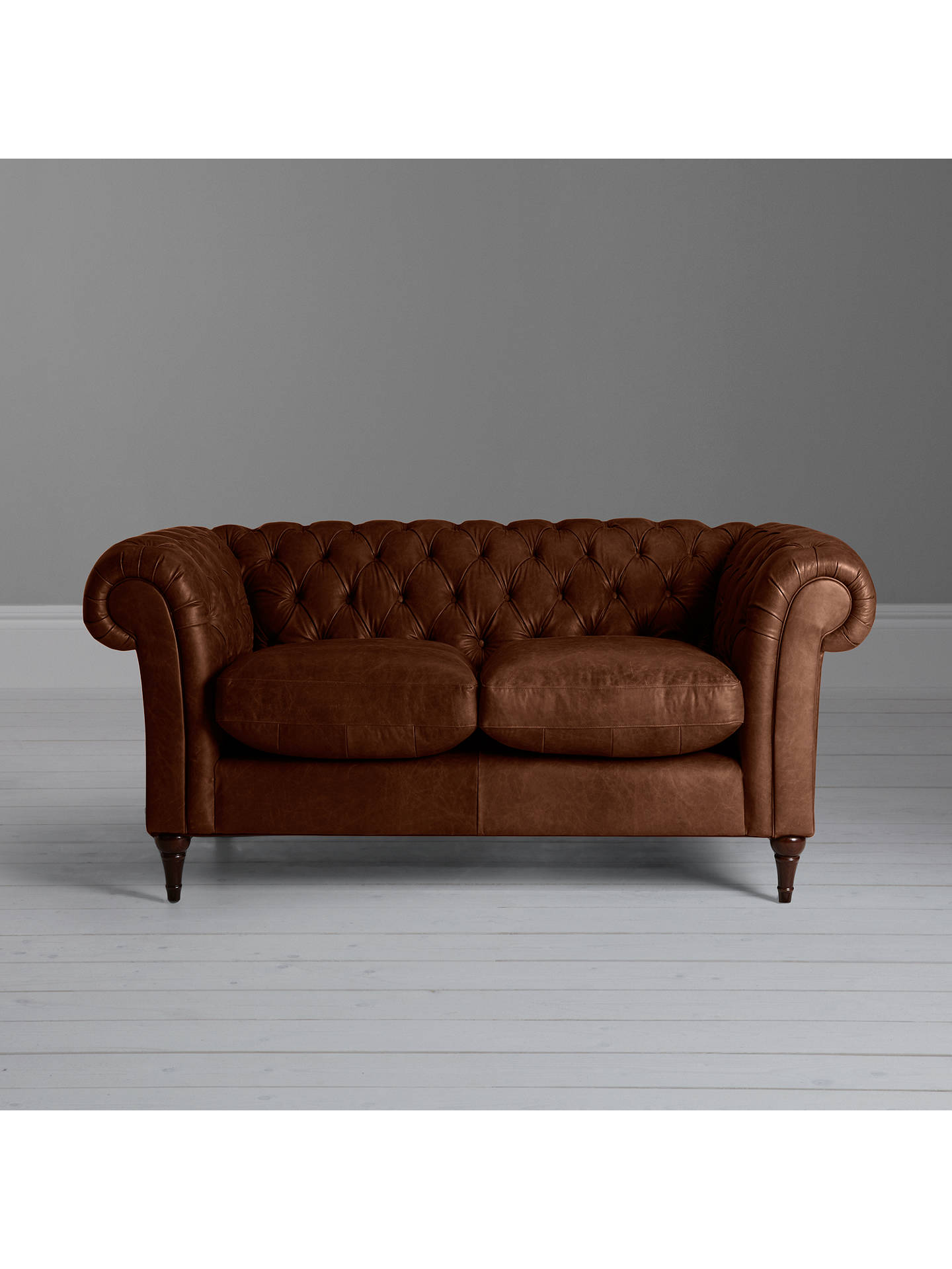 John Lewis Partners Cromwell Chesterfield Small 2 Seater