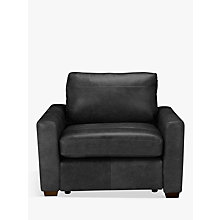 Buy House by John Lewis Oliver Armchair, Dark Leg Online at johnlewis.com