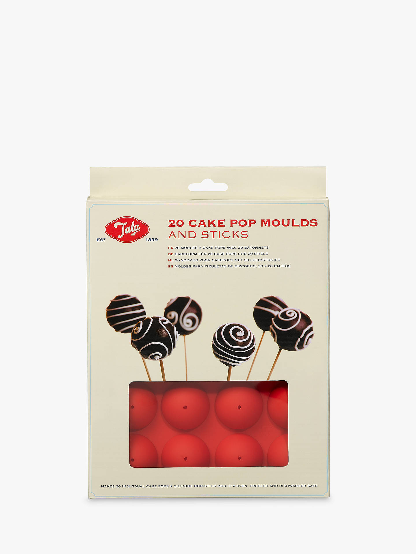 BuyTala 20 Cake Pop Moulds and Sticks Online at johnlewis.com