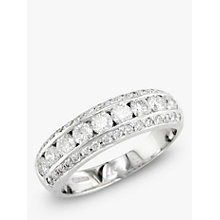 Buy EWA 18ct White Gold Diamond Ring, Silver Online at johnlewis.com