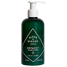 Buy Björk & Berries Botanist Hand Wash, 250ml Online at johnlewis.com