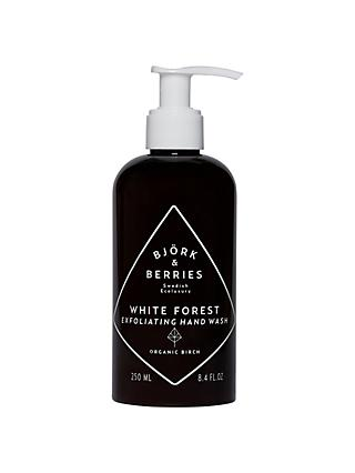 Björk & Berries White Forest Exfoliating Hand Wash, 250ml