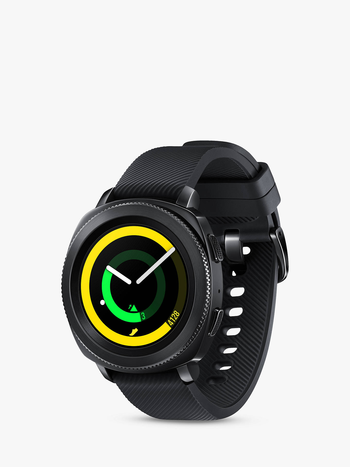 Buy Samsung Gear Sport Smartwatch with Bluetooth and Wi-Fi, Black Online at johnlewis.com