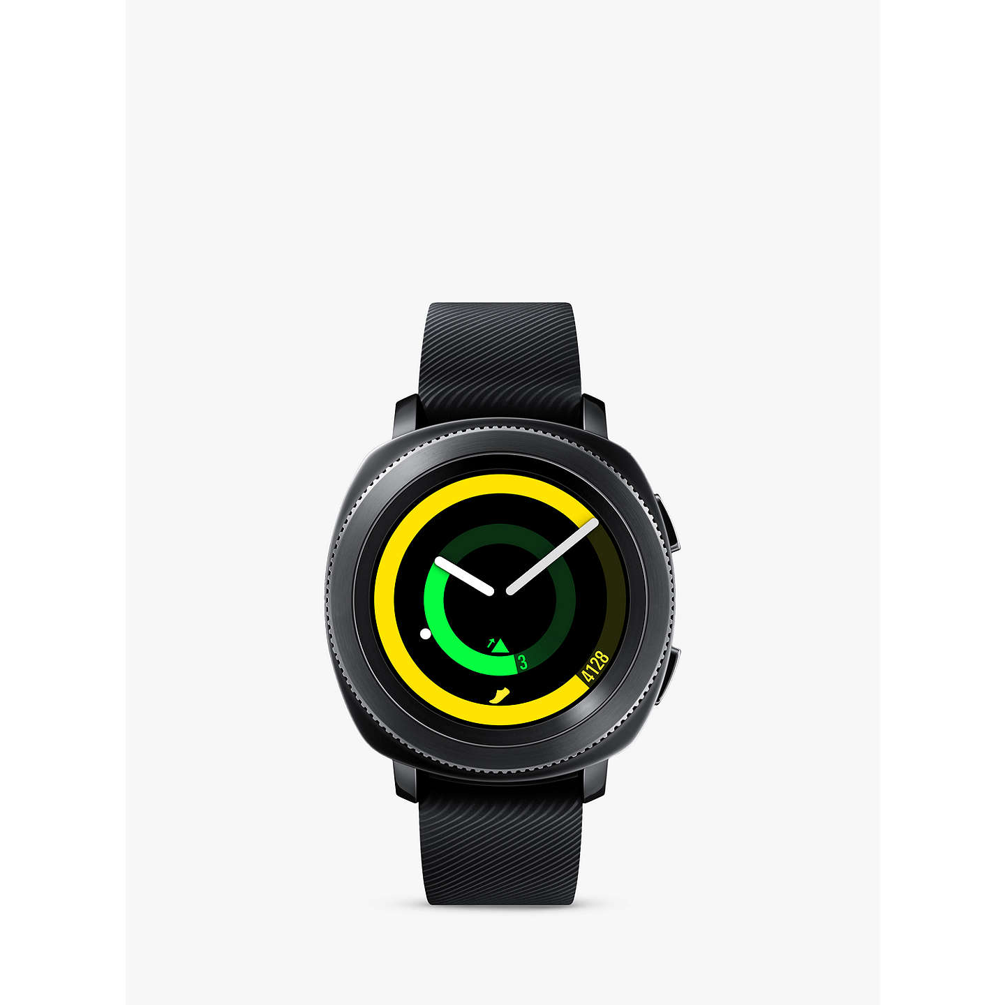 BuySamsung Gear Sport Smartwatch with Bluetooth and Wi-Fi, Black Online at johnlewis.com