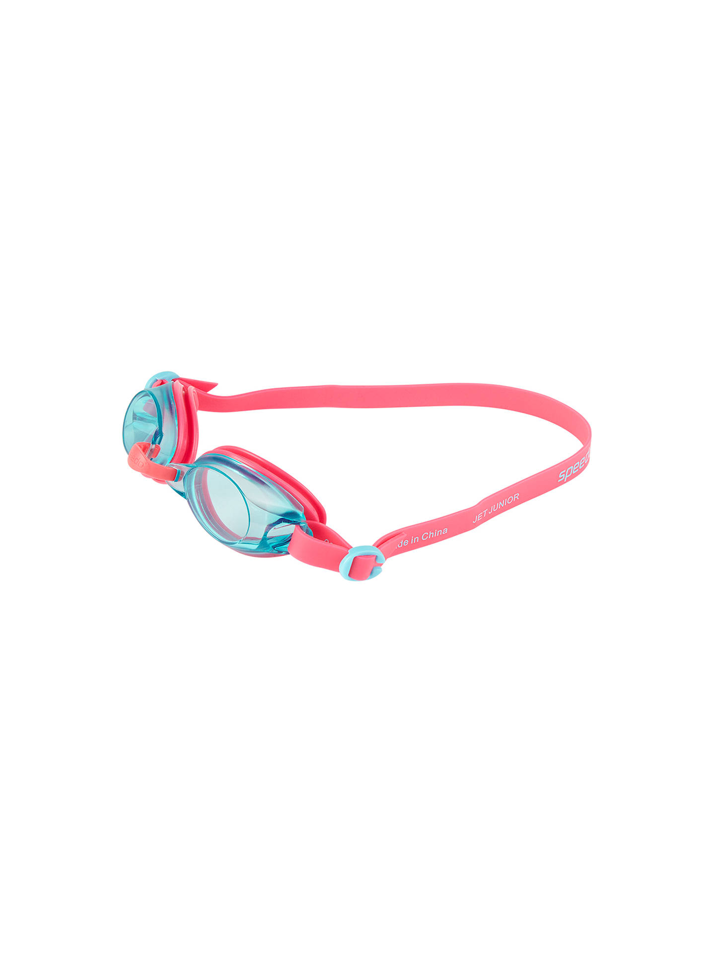 BuySpeedo Jet Junior Goggles, Pink/Blue Online at johnlewis.com