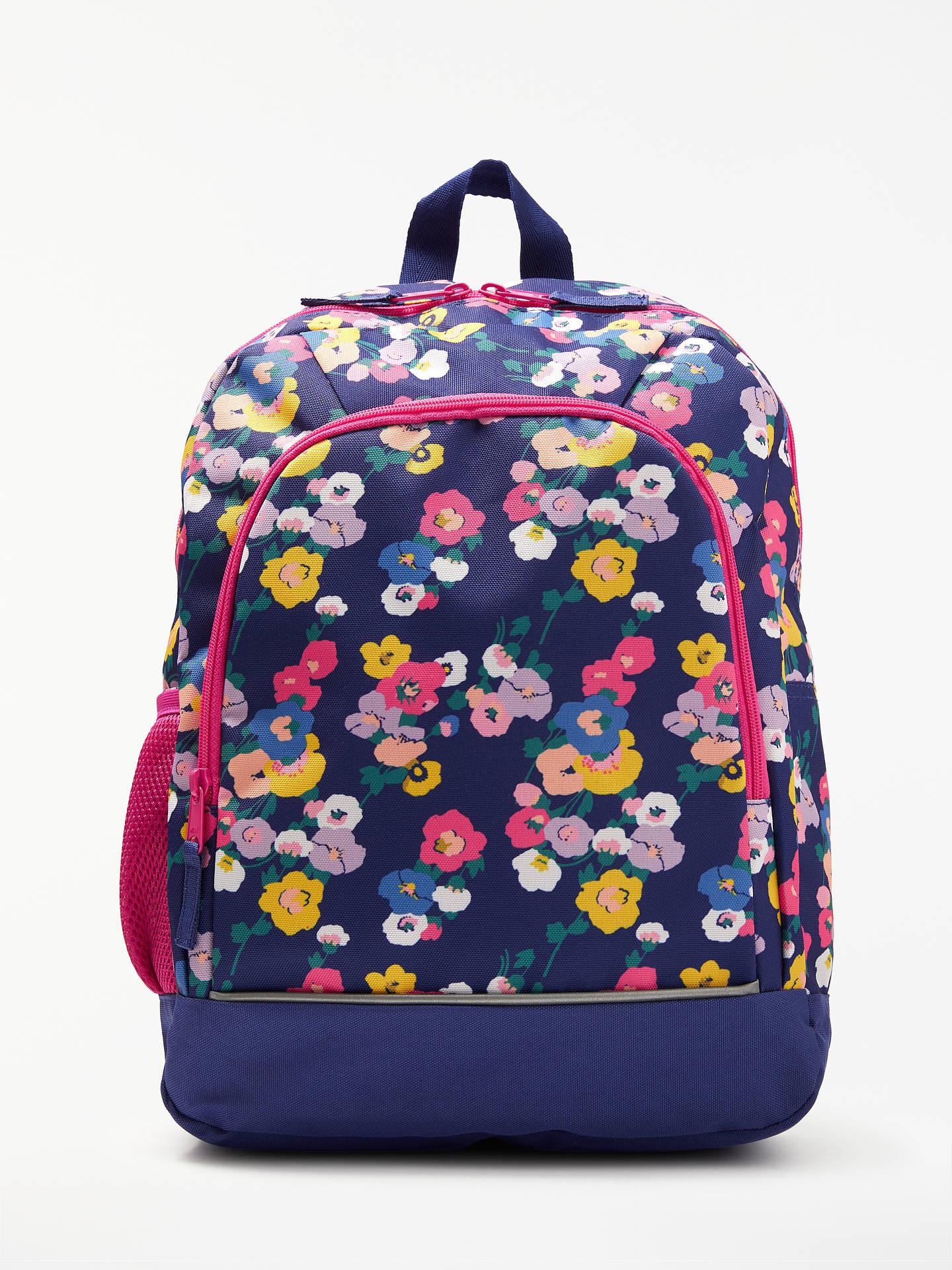 b31f8b86cc Buy John Lewis & Partners Children's Floral Print Backpack, NavyMulti  Online at johnlewis. ...