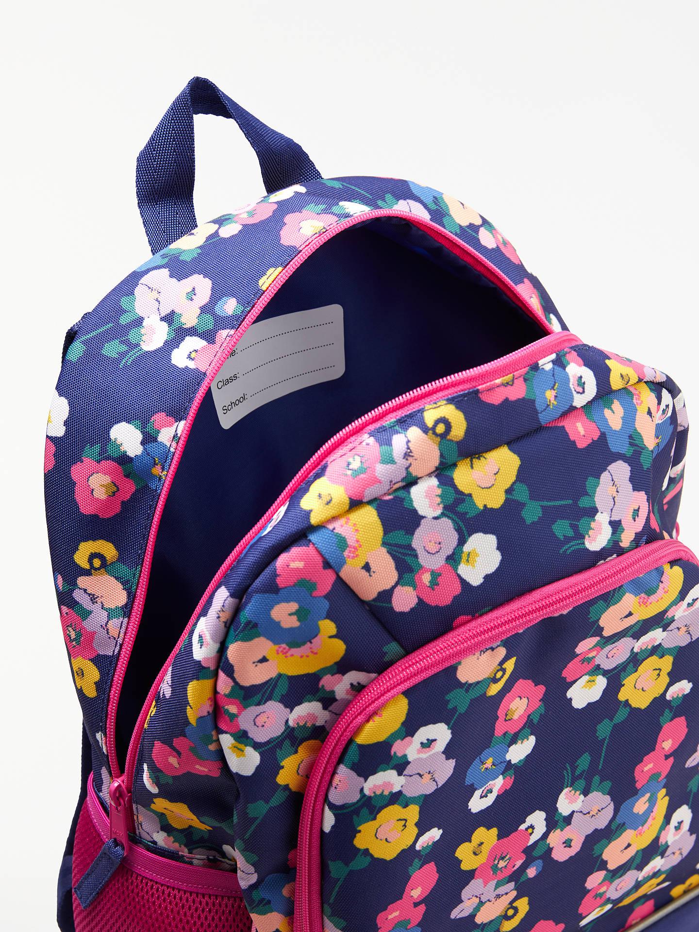 3a2fae9761 ... Buy John Lewis & Partners Children's Floral Print Backpack, NavyMulti  Online at johnlewis. ...