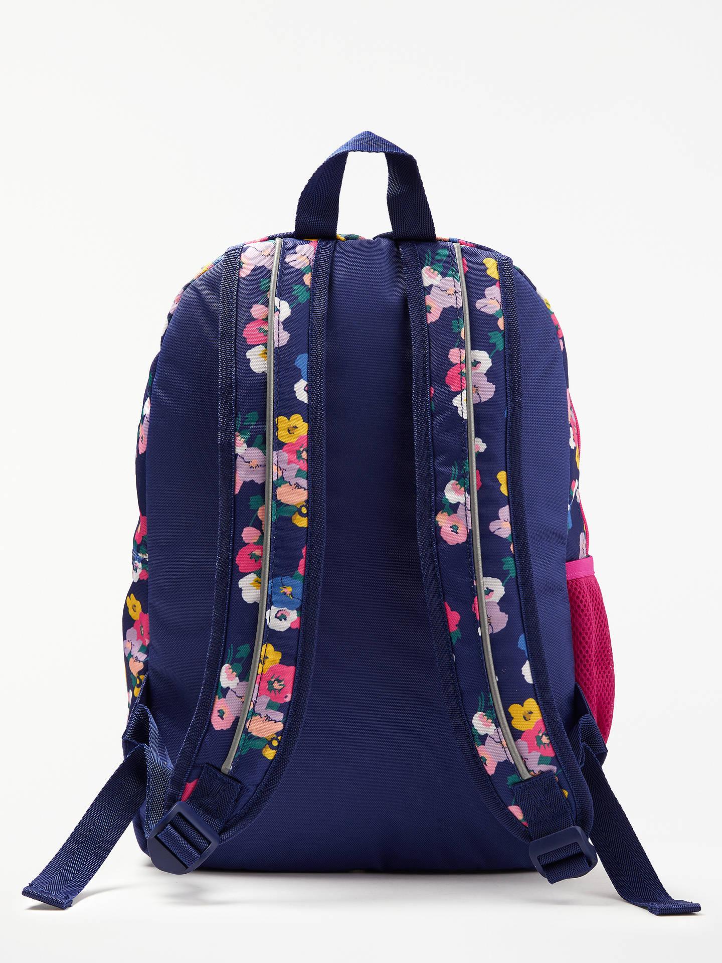 bfa34da675 ... Buy John Lewis & Partners Children's Floral Print Backpack, NavyMulti  Online at johnlewis.com