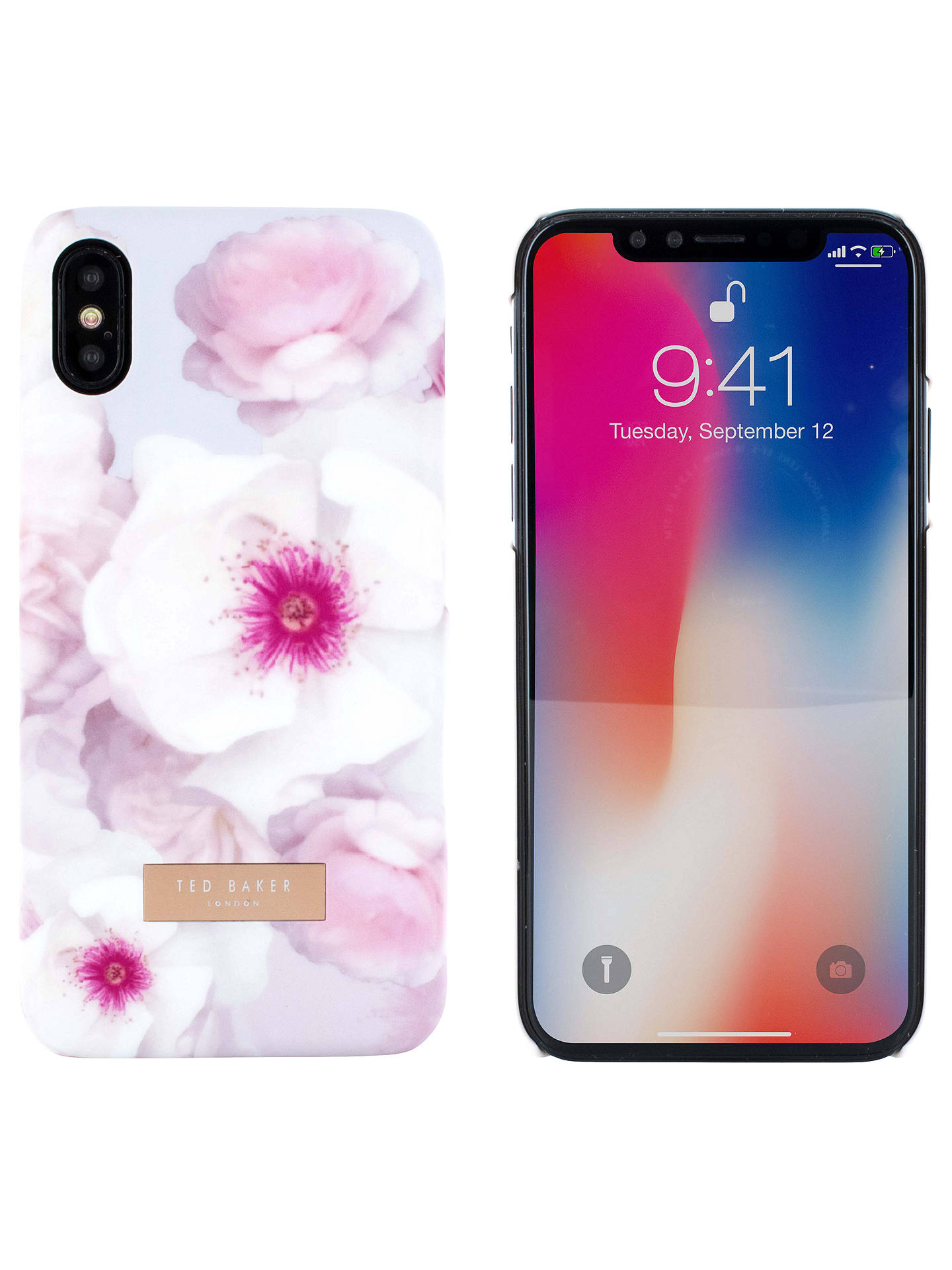 online retailer 33adc 03f74 Ted Baker Kamala Case for iPhone X, Light Grey