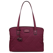 Buy Radley Deco Stripe Quilted Large Tote Bag Online at johnlewis.com