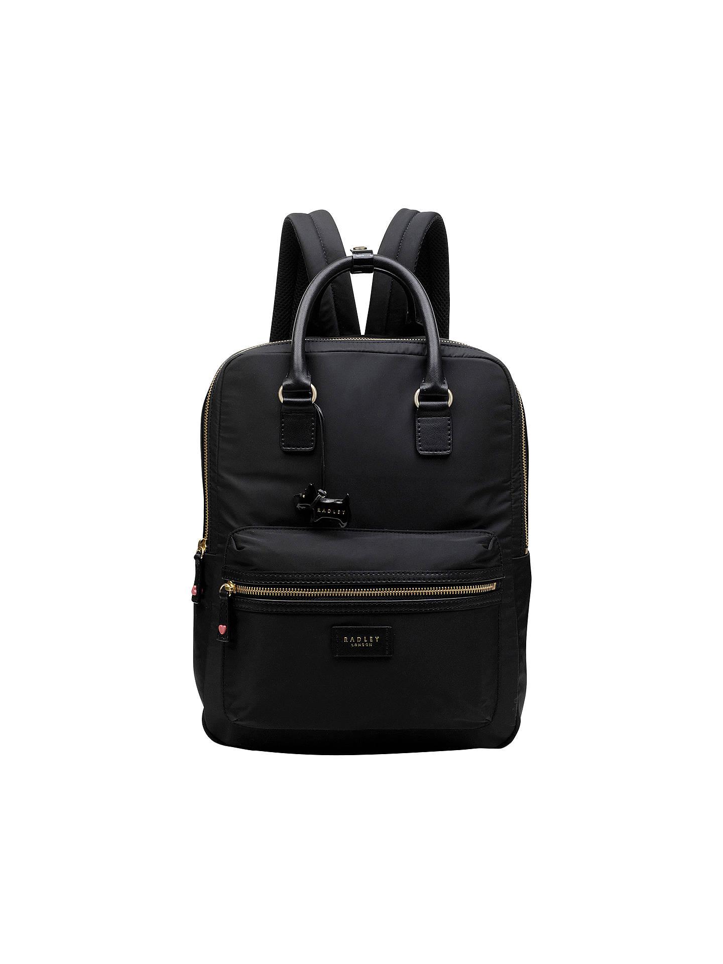 becf6fceb054 BuyRadley Brecon Large Backpack, Black Online at johnlewis.com ...