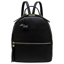 Buy Radley Fountain Road Leather Medium Backpack Online at johnlewis.com
