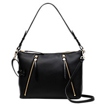 Buy Radley Fountain Road Medium Leather Zip Top Shoulder Bag Online at johnlewis.com
