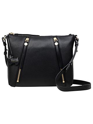 da8d1d81d4 Radley Fountain Road Small Leather Zip Top Cross Body Bag