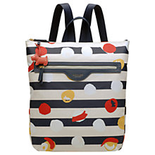 Buy Radley On The Dot Zip Top Backpack, Multi Online at johnlewis.com