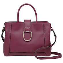 Buy Radley Primrose Hill Leather Medium Grab Bag, Berry Online at johnlewis.com