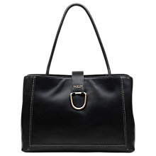 Buy Radley Primrose Hill Leather Tote Bag, Black Online at johnlewis.com