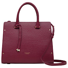 Buy Radley Bow Lane Leather Medium Grab Bag Online at johnlewis.com