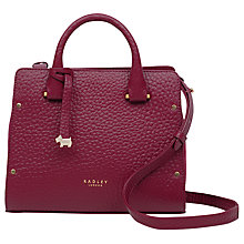 Buy Radley Bow Lane Leather Grab Bag Online at johnlewis.com
