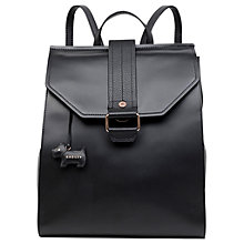 Buy Radley Ellis Mews Leather Backpack, Black Online at johnlewis.com