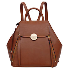 Buy Radley Esher Street Leather Medium Backpack Online at johnlewis.com