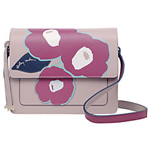 Buy Radley Eden Row Leather Small Flapover Cross Body Bag Online at johnlewis.com