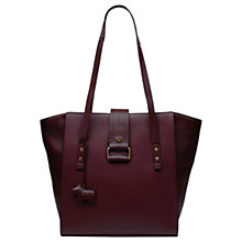 Buy Radley Ellis Mews Leather Large Tote Bag, Port Online at johnlewis.com