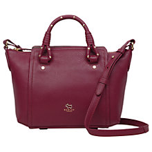 Buy Ted Baker Darling Row Leather Small Grab Bag Online at johnlewis.com
