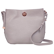 Buy Radley Carey Street Leather Cross Body Bag, Taupe Online at johnlewis.com