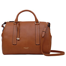Buy Radley Globe Road Leather Medium Grab Bag Online at johnlewis.com