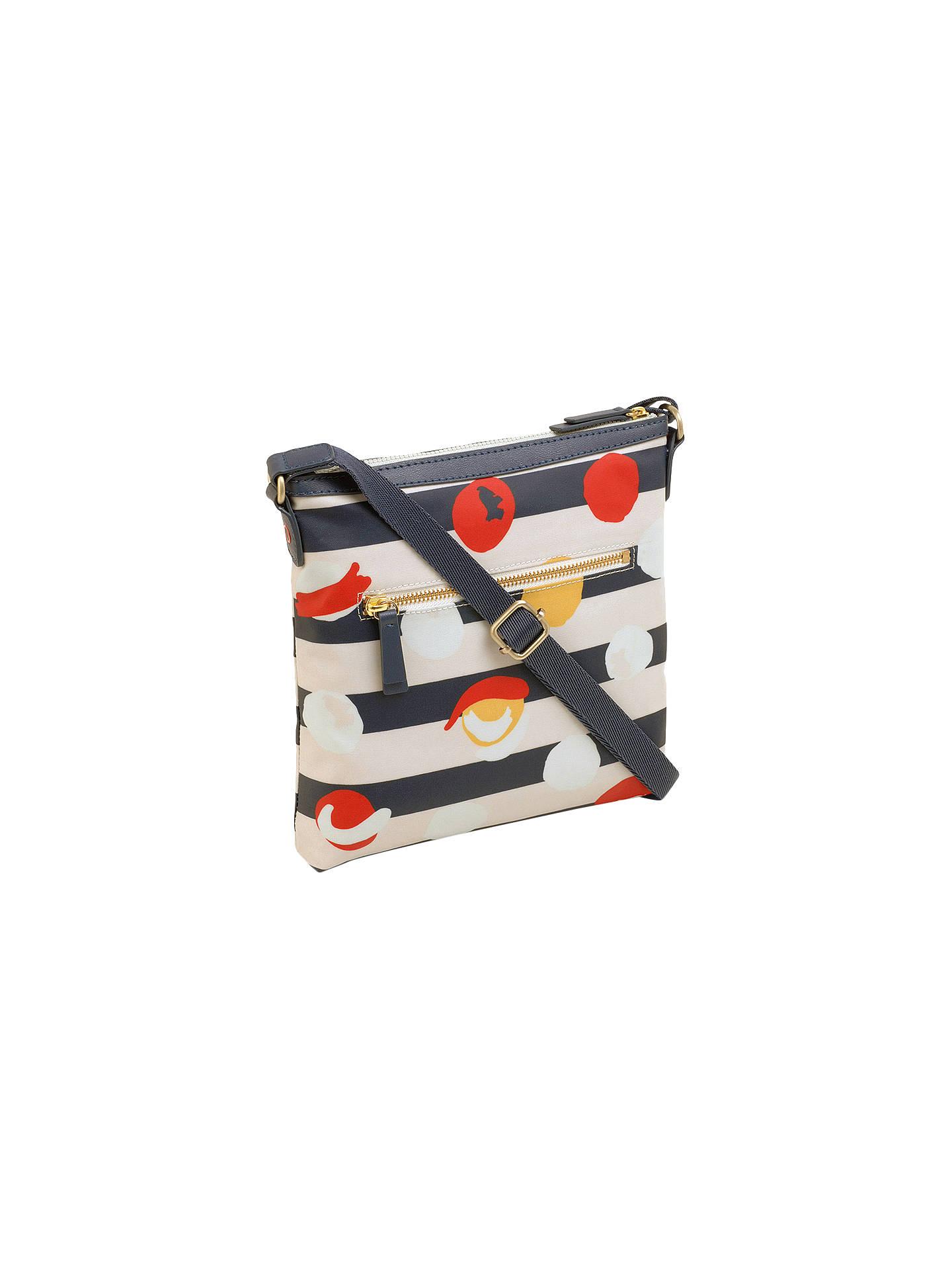 d0209331156 ... BuyRadley On The Dot Large Ziptop Cross Body Bag, Petrol Online at  johnlewis.com ...