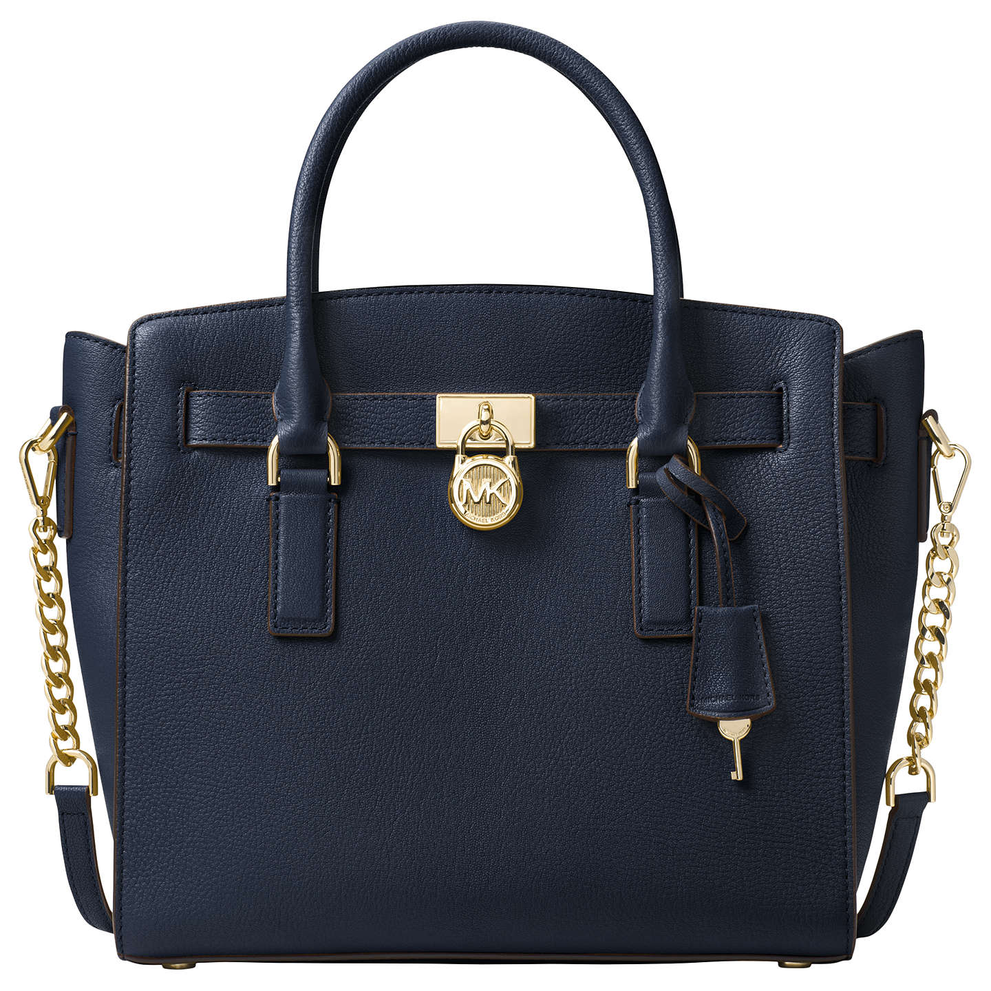 Michael Kors Hamilton Leather Large East West Tote Bag Admiral Online At Johnlewis