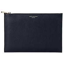 Buy Aspinal of London Leather Large Essential Pouch Purse Online at johnlewis.com