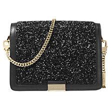 Buy MICHAEL Michael Kors Jade Beaded Clutch Bag, Black Online at johnlewis.com