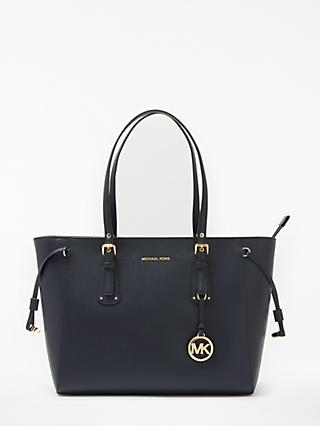 MICHAEL Michael Kors Voyager Leather Medium Tote Bag