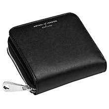 Buy Aspinal of London Leather Continental Small Clutch Purse Online at johnlewis.com