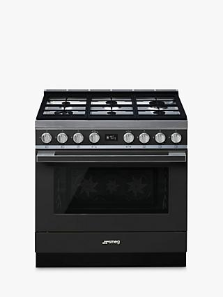 Smeg Portofino CPF9G Dual Fuel Range Cooker, A+ Energy Rating