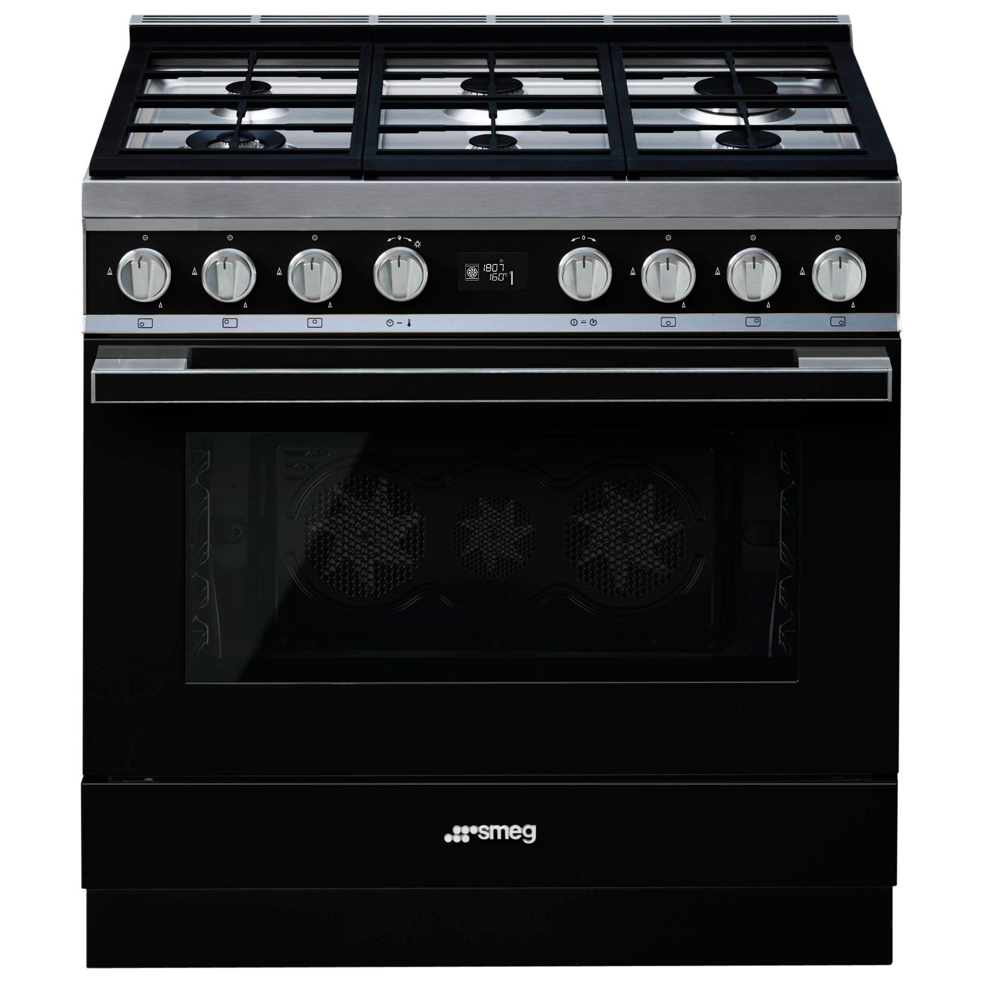 Smeg Portofino CPF9G Dual Fuel Range Cooker, A+ Energy Rating,