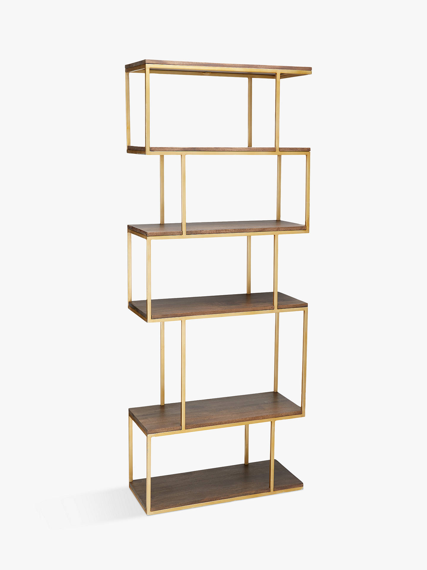 Content By Terence Conran Balance Metal Alcove Shelving Unit Natural