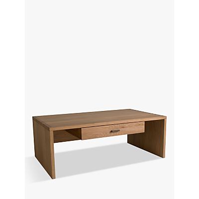Hudson Living Kielder Storage Coffee Table, Oak