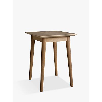 Hudson Living Milano Side Table, Oak