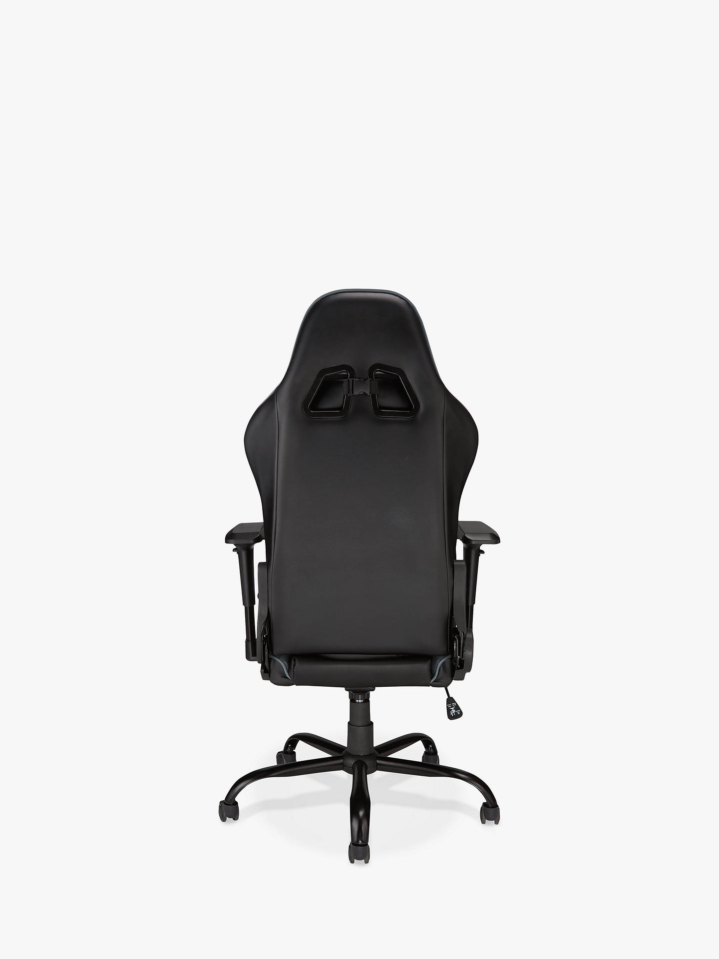 Fabulous John Lewis Partners Monaco Gaming Chair Black Steel Theyellowbook Wood Chair Design Ideas Theyellowbookinfo