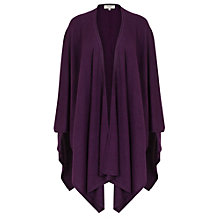 Buy East Merino Wool Knitted Wrap, Pansy Online at johnlewis.com