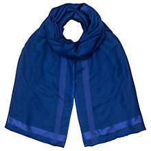 Buy East Wool Silk Scarf, Violet Online at johnlewis.com