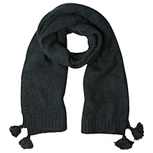 Buy White Stuff Elsa Scarf, Arran Teal Plain Online at johnlewis.com